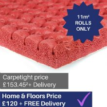 Red Acoustic Supreme carpet underlay - 11m² ROLLS